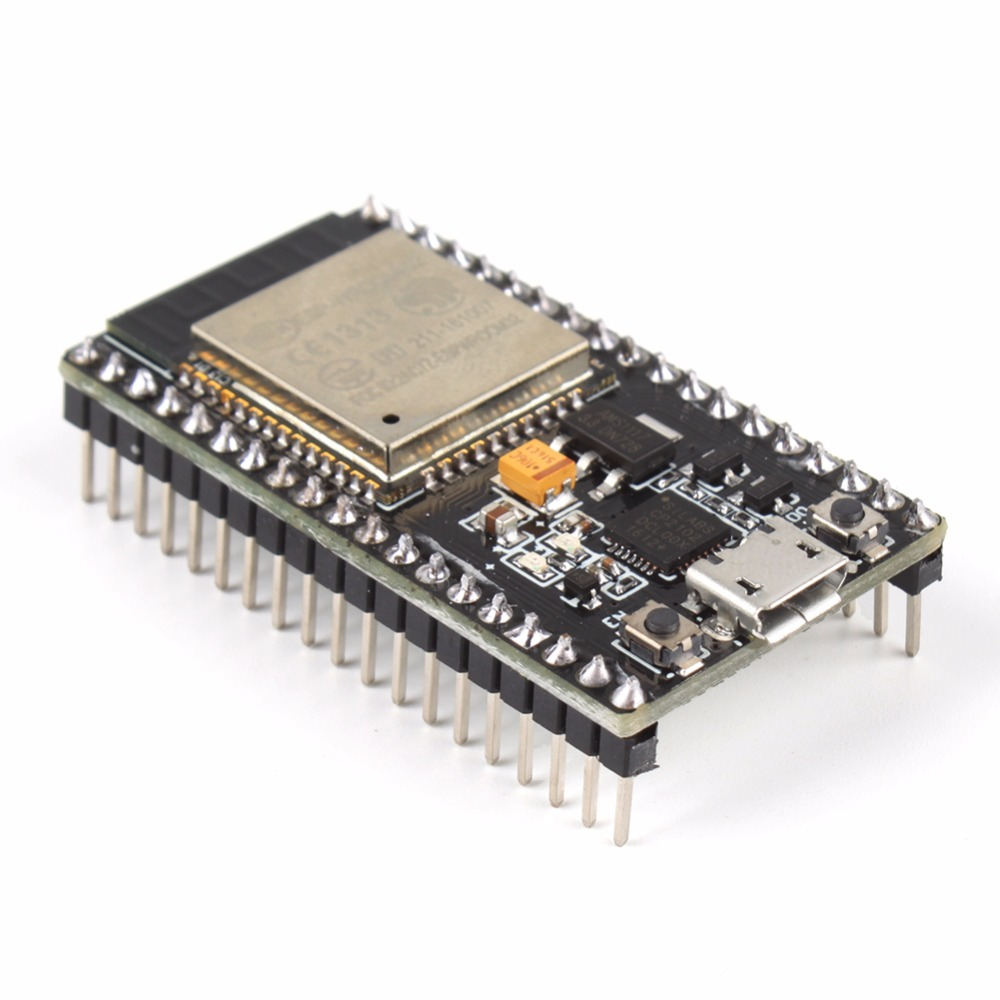 ESP32 ESP-32S NodeMCU Development Board 2.4GHz WiFi+Bluetooth Dual Mode #251065 lua wifi nodemcu internet of things development board based on cp2102 esp8266