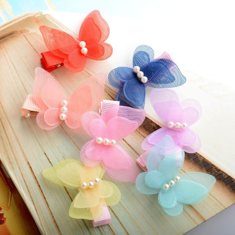 TOPHOT 1PC Butterfly Kids Children Hair Accessories Headwear Hair Hoop Baby Girl Hair Clip bowknot Hairpin Toddler 10pcs mix color barrette baby hair clip cute flower solid cartoon handmade resin children hairpin girl hair clip accessories