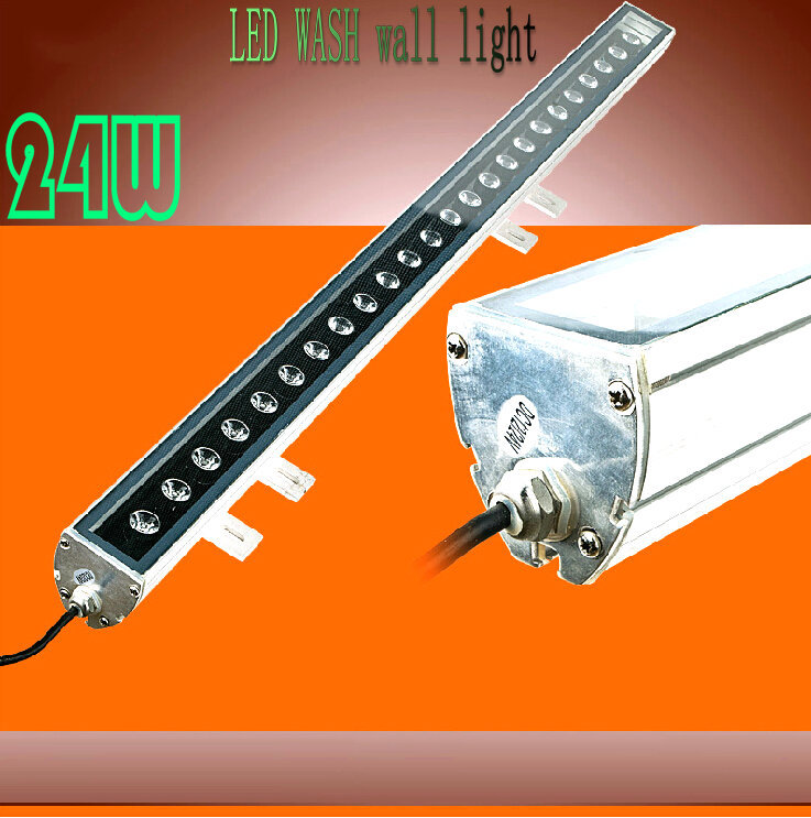 Free shipping 18W/24W Waterproof LED Wash Flood Light Floodlight LED Projection Outdoor Lamp IP65