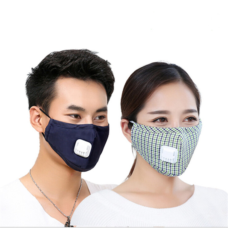Punctual Cotton Pm2.5 Mouth Mask Anti Dust Mask Activated Carbon Filter Windproof Mouth-muffle Bacteria Proof Flu Face Masks Care Easy And Simple To Handle Women's Masks Apparel Accessories