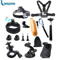Gopro Accessories Set Head Band Chest Belt Tripod Mount Strap Bobber Floating For Go pro Hero 5 5S4 3 xiaomi yiaction cameraGS04