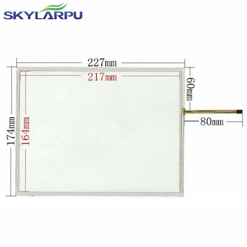 skylarpu New 10.4 inch 4 wire Resistive Touch Screen Panel 227*174mm touch screen digitizer panel free shipping amt 146 115 4 wire resistive touch screen ito 6 4 touch 4 line board touch glass amt9525 wide temperature touch screen