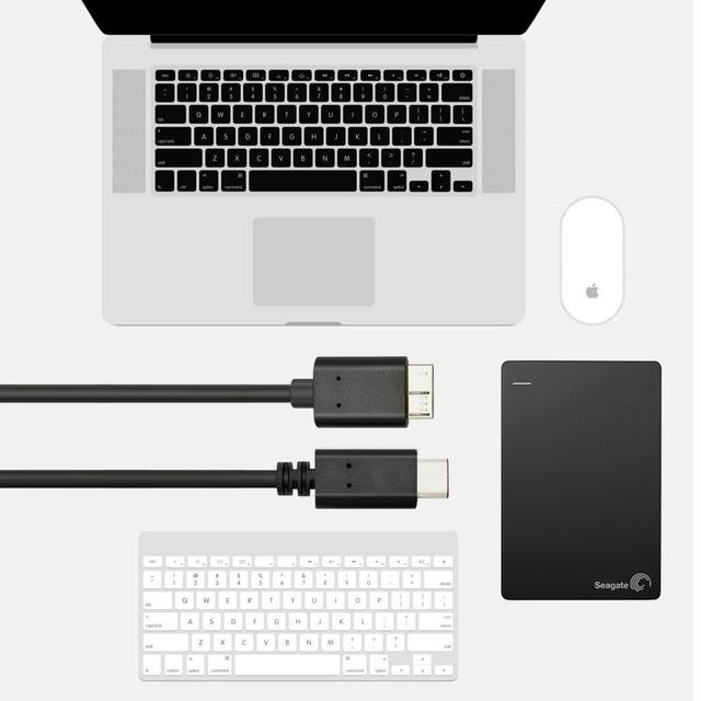 0.2 m 1 m usb3.1 tipo-c para usb 3.0 micro b 10pin cabo 5 gbps adaptador de conector de dados para disco rígido smartphone pc otg c tipo telefone