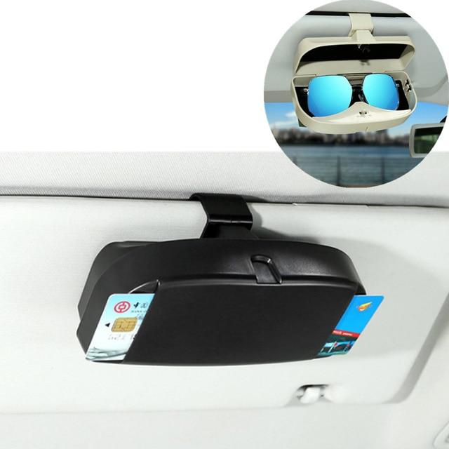 Car Glasses Case Organizer Box Sunglasses Storage Pockets for Buick LaCrosse verano GS Regal Excelle for Acura MDX RDX TSX ZDX