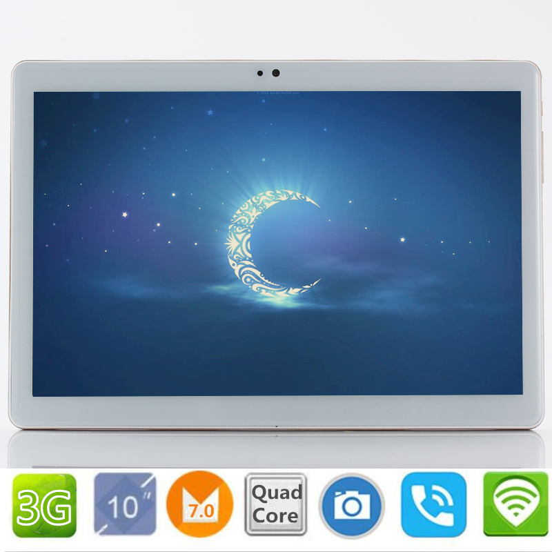 2.5D Screen Google 10.1 inch Original 3G Phone Call Android 7.0 Quad Core IPS pc Tablet WiFi 2GB+32GB 7 8 9 10 android tablet pc стоимость