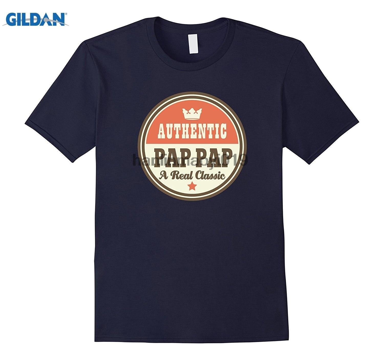 GILDAN Pap Pap Grandpa T-shirt PapPap Fathers Day Tee