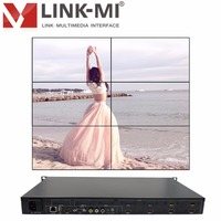 Video Wall Controller HDMI Processor 2x3 Stitching Six Image Processor 6TV Shows Screen Splicing HDMI VGA