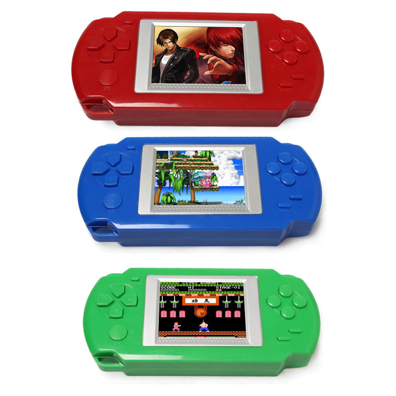 2019 New Arrival Quality Ultra-Thin Portable 2.0'' Color Screen Video Games Consoles 268-in-1 Classic Games Handheld Game Player