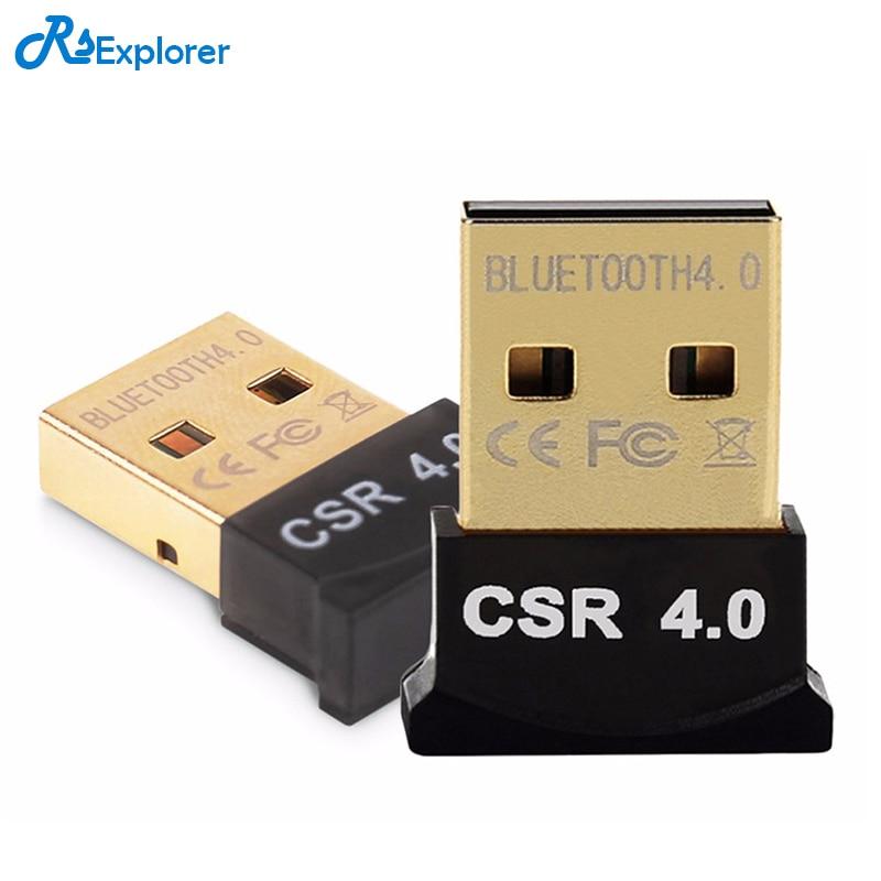 Mini USB Bluetooth Adapter V4.0 CSR Dual Mode Wireless Bluetooth Dongle 4.0 Transmitter For Windows 10 Win 7/8 Vista XP Laptop