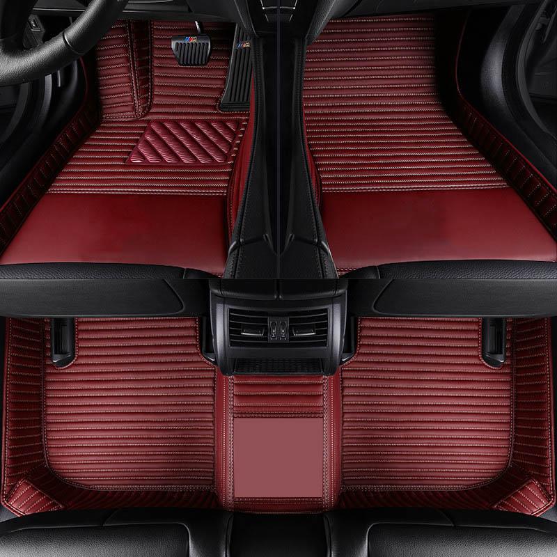Car Believe car floor mats For volvo v50 v40 c30 xc90 xc60 s80 s60 s40 v70 v60 xc40 accessories carpet rug(China)