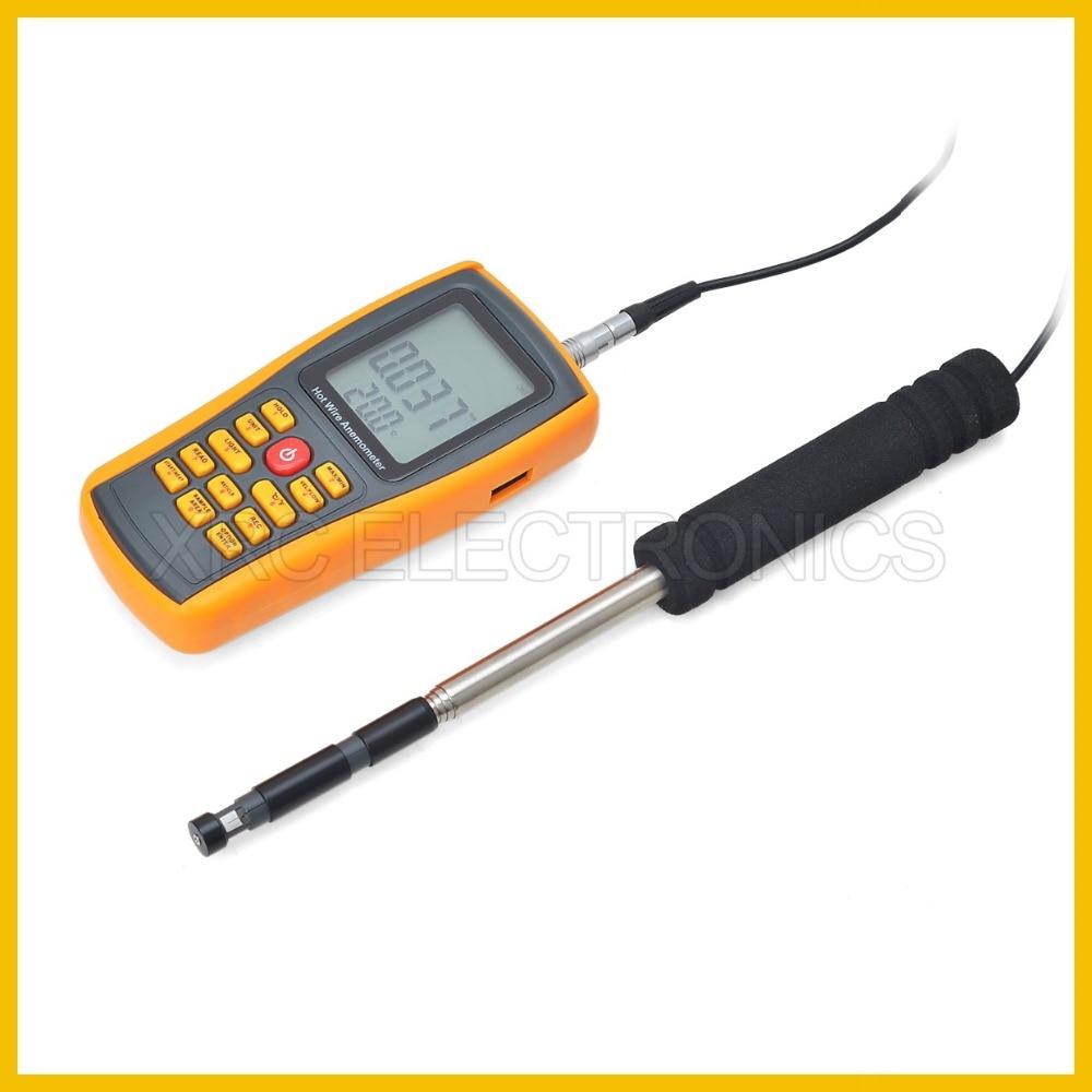 RZ GM8903 Anemometro Misuratore di velocità del vento Misurazione - Strumenti di misura - Fotografia 3