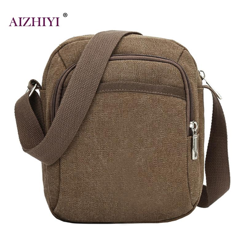 Casual Travel Small Flap Messenger Bags Vintage Men's Messenger Bags Canvas Shoulder Bag Fashion Men Business Crossbody Bag 2018 augur fashion men s shoulder bag canvas leather belt vintage military male small messenger bag casual travel crossbody bags