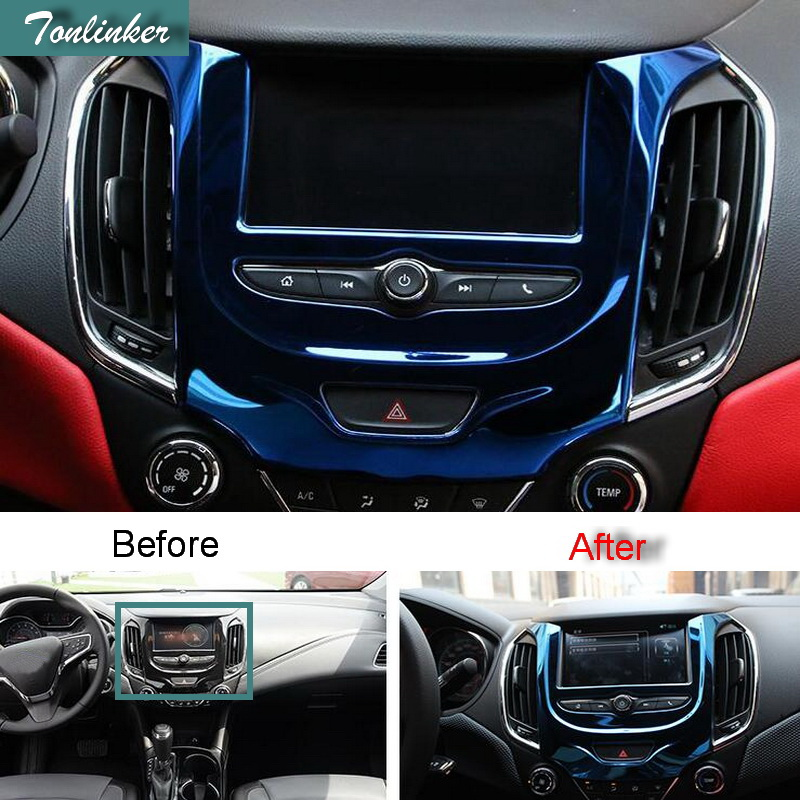 Carbon fiber Center Console Panel Dashboard Decal For Nissan Murano 2015-19