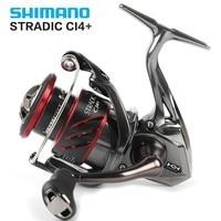 Original Shimano Stradic CI4+ 1000/1000HG 2500/2500HG C3000/C3000HG 4000/4000XG Spinning Fishing Reel 6+1bb 5.0:1/6.0:1 X ship