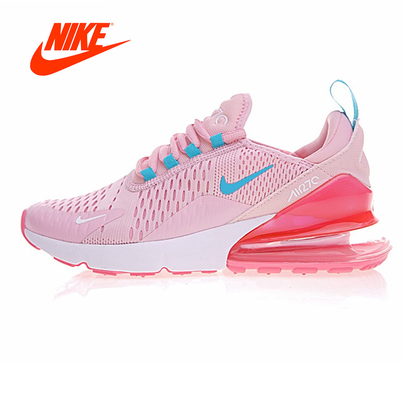 4037e2a9 Original New Arrival Authentic Nike MAX 270 Womens Running Shoes Shock  Absorption Non-slip Lightweight Sneakers Outdoor