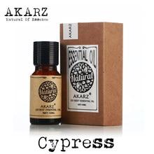 Akarz marca famosa natural cypress óleo manter a pele umidade aliviar espasmo muscular apaziguar cypress óleo essencial