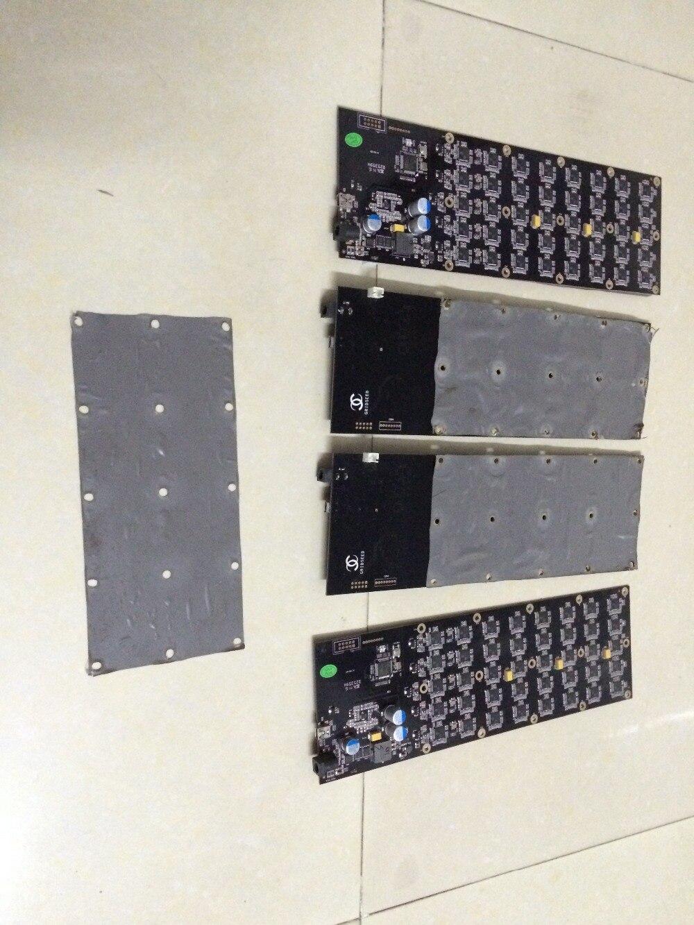 Envío libre gridseed 2.6-3 m USB ASIC minero scrypt minero litecoin Minería el PCB con silicona conductora térmica pad