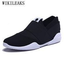 fbd0c7b9d5 2018 nova moda mens sapatos casuais sapato masculino formadores de marcas  famosas designer versão deslizamento em loafers lona s.