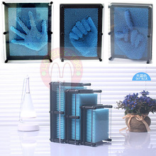 Lovely Too Novelty Πλαστικά funToy αστεία παιχνίδια ανέκδοτα 3D κρύσταλλο αποτύπωμα δακτυλικών αποτυπωμάτων βελόνα χριστουγεννιάτικο δώρο gag Lizunov παιχνίδι τέχνασμα