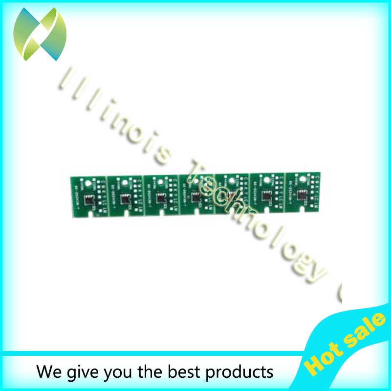One-time Chip for Mimaki LF140-0728 UV Cartridge 7 colors CMYKLCLMWh printer parts peak735vl lf 865 chip sata interface industrial board peak735vl lf 100