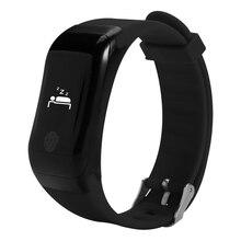 Водонепроницаемый Bluetooth Smart Браслет монитор сердечного ритма активности фитнес-трекер Шагомер Браслет Smart Band для iOS и Android