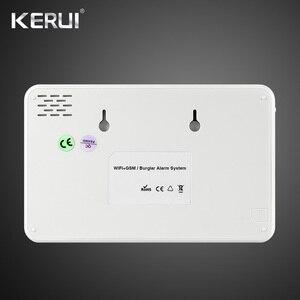 Image 2 - W18 Kerui Wireless Wifi GSM IOS Android APP di Controllo LCD GSM SMS Antifurto Casa Sistema di Allarme Pet Immune PIR Rivelatore pet il Movimento
