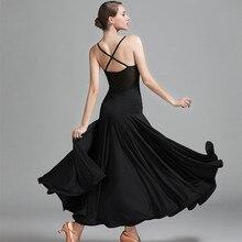 sexy Red ballroom dress black spanish flamenco dress ballroom dance dress viennese waltz dress fringe tango modern dance cotumes