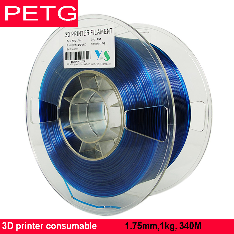 """ספיישל SILVERLIT ABS / PLA / PETG נימה 1.75 / 1 ק""""ג / 3D מדפסת מתכלים / YouSu באיכות גבוהה מותג שקוף משלוח חומר מרוסיה (2)"""