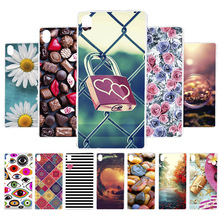 3D DIY Soft Silicon Case For SONY XA Coque Xperia F3111 F3113 Cover Painted Back Fundas Housing Bag