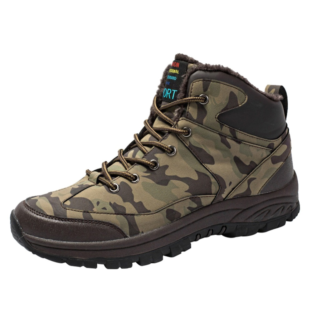Professional Hiking Shoes Men Waterproof Hiking Boots Tactical Boots Outdoor Mountain Climbing Sports Sneakers Boots For