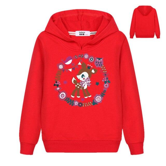 e68266a2 Kids Girls Christmas Xmas Hooded Sweatshirt Tops Deer Penguin Bear Printed  Boys Long Sleeve Pullover Hoodies