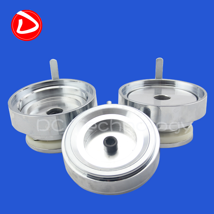 Best sale 3 round badge New Die mould of 75mm,high quality. best new product on sale 30