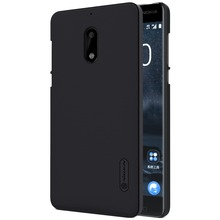 For Nokia 6 case Nillkin Super Frosted Shield Phone Case Plastic Hard Back Cover top pc case for Nokia 6 phone case pro prime