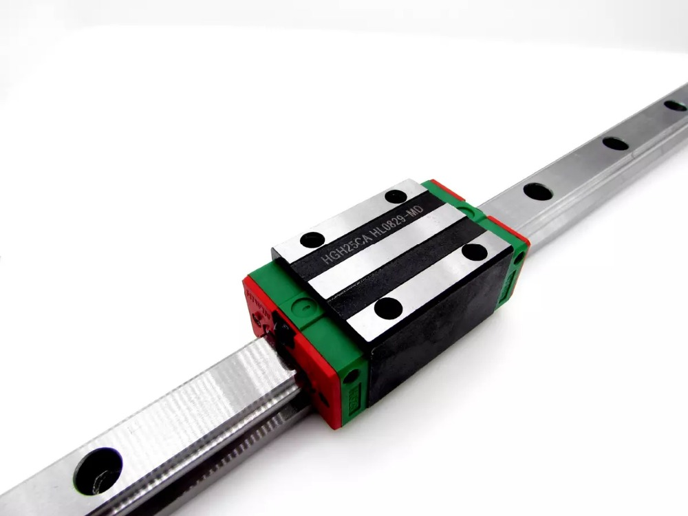 10pcs/lot HGH20CA China made good quality linear blocks linear rail guide cnc good china quality guideway precision linear guide rail slider hgh35 100mm