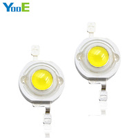 YooE 50Pcs Lots DIY High Power LED Spotlight Bulb Downlight 3W High Power 45 Mil Light