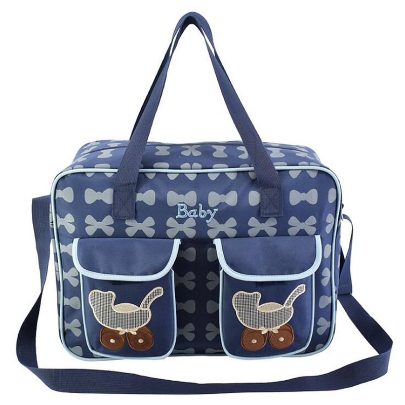 Baby Diaper Bags For Mom Nappy Stroller Bag Organizer Designer Multifunctional Tote Bag With Wet Pad