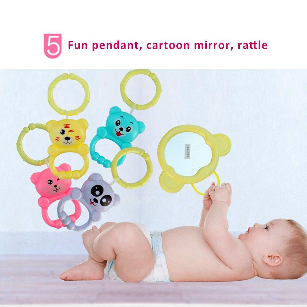 cobertor brinquedo tocando sino do bebê fitness jogo atividade quadro