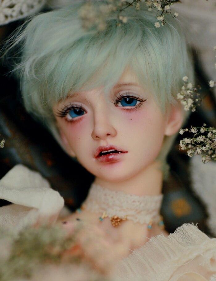 BJD 1 3 male doll Seolrok resin figures gorgeous dolls gift free eyes hehebjd