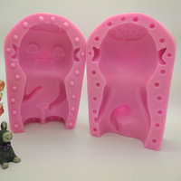 21 5 14 0 10 8cm Wuba DIY Silicone Cake Mold Hot Pot Base Material Mold