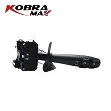 KobraMax Steering Wheel  Combination Switch Turn Signal Switch for Renault Logan Tondar Dacia Sandero Wagon 6001551361 kobramax front anti roll bar stabiliser bush for dacia renault logan sandero logan ii 2 8200277960