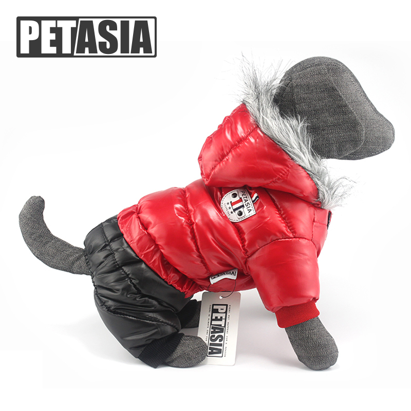 2016 Best Pet Dog Clothes Jacket Coat For Spring Autumn Winter Waterproof Super Warm Clothing XS