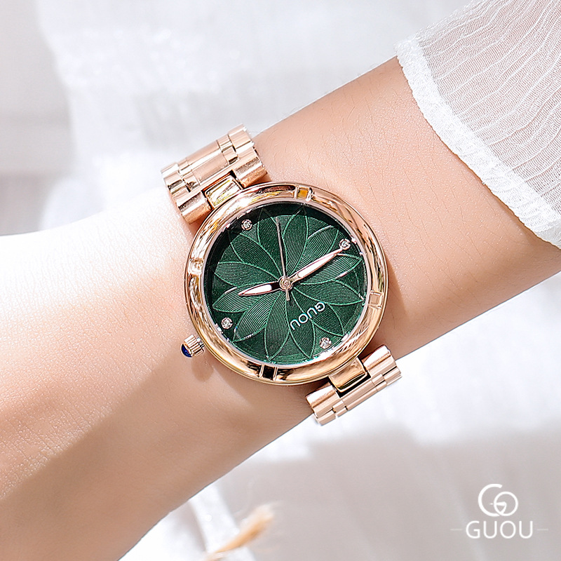 купить 5 Colors Women Watches Ladies Crystal Round Wristwatch Modern Rose Gold Watches Luxury Diamond Female Quartz Watch reloj mujer по цене 2975.57 рублей