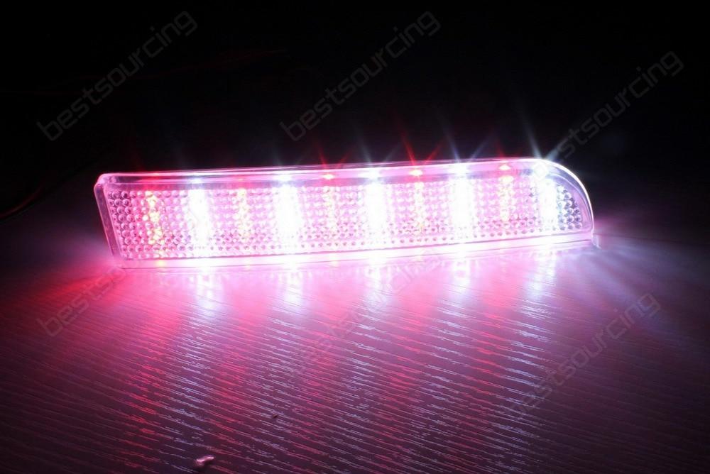 Klar Heckstoßstange Reflektor LED Umge Licht Evolution X CZ4A Lancer ...