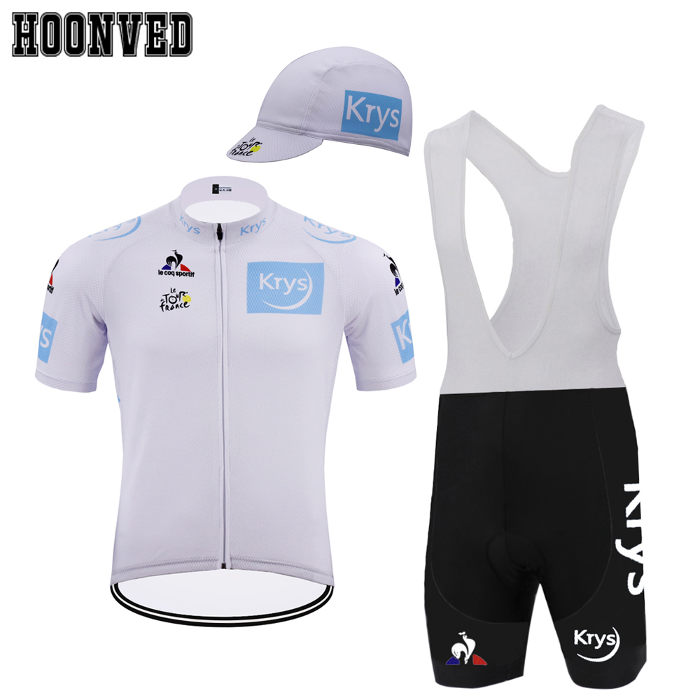The Tour de France Man Retro white cycling Jersey Short sleeves suit Bike  Jersey Bib Shorts 9D Gel Pad maillot ciclismo hombre-in Cycling Sets from  Sports ... 824cdd496