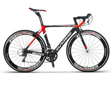 Free shipping 16 Speed Carbon Fibre Highway bicycle 700c Cross-country Racing Men And Women Sports mountain bike