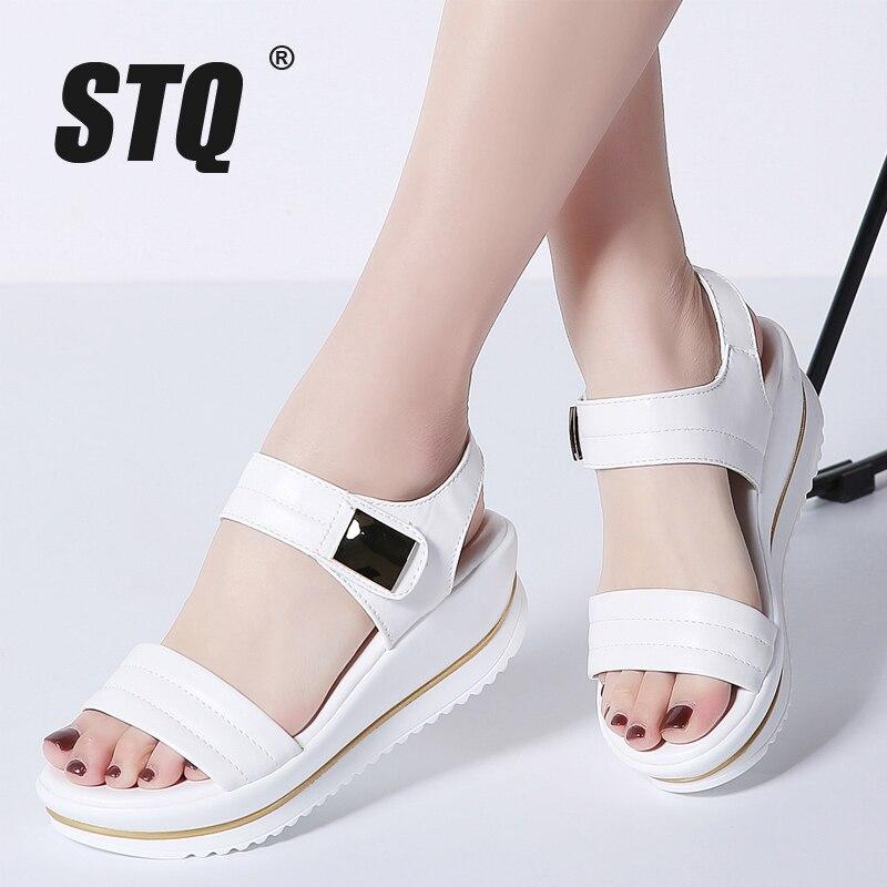 STQ 2020 Summer Women Platform Flat