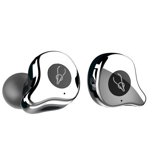 Fone de Ouvido Tampão à Prova Fone de Ouvido sem Fio Horas de Vida Útil da Bateria Gêmeos sobre 6 Bluetooth Sabbat Água sem Fio Estéreo E12 Bt5.0 d'