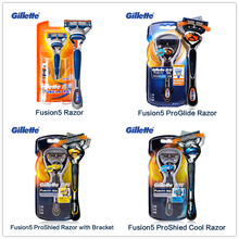 Gillette Fusion ProGlide ProShield Razor Blade Manual Shaving Razor Blades Men Shaver Razor Blade Face Care genuine 4 blades 2 gillette fusion shaving razor blades for men blade to shave face care hq8 brands razor blades