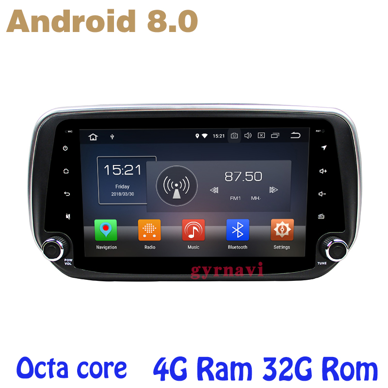 Octa core PX5 Android 8.0 car dvd gps for hyundai IX45 Santa fe 2018 2019 with 4G RAM 32G ROM radio wifi 4g usb auto Multimedia