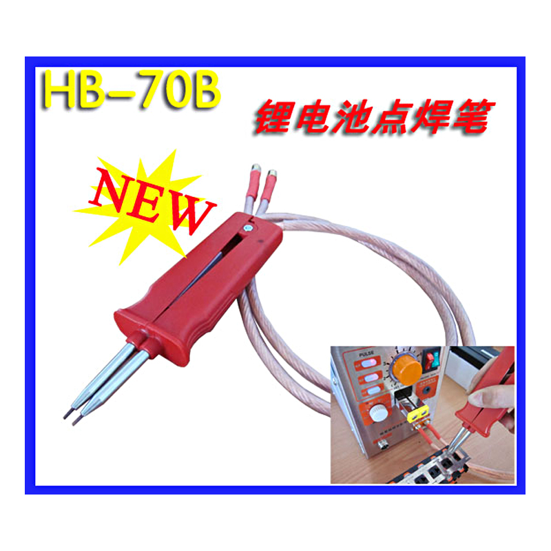 SUNKKO HB-70B Battery spot welding pen-use polymer battery welding spot welder pen for 709 series spot welding machine spot welder machine laptop button battery welding machine battery pack applicable notebook and phone battery welding